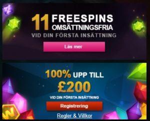 SPILL-Funksjon tilgjengelig på mange forskjellige casinospill!
