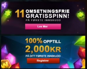 Spill nå på jackpotter på Videoslots Casino!