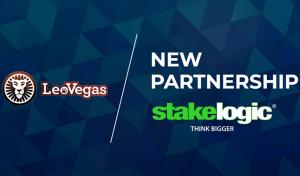 Stakelogic innleder samarbeid med nettcasino LeoVegas!